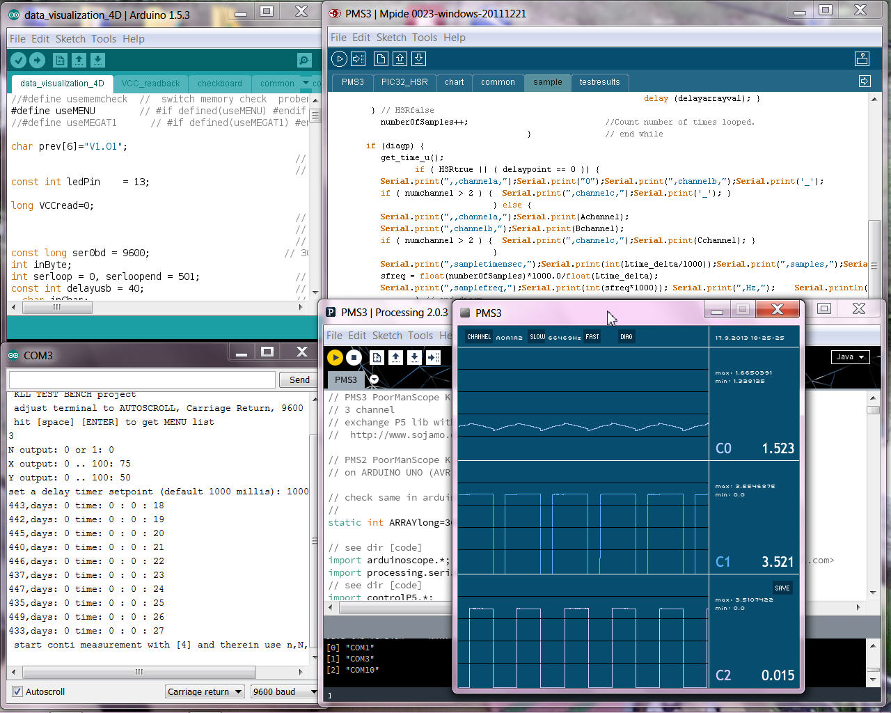 Arduino processing software download