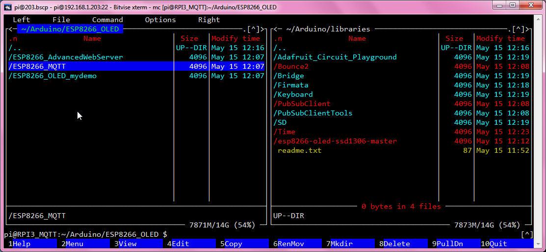 KLL engineering work blog - Articles: RPI use MQTT