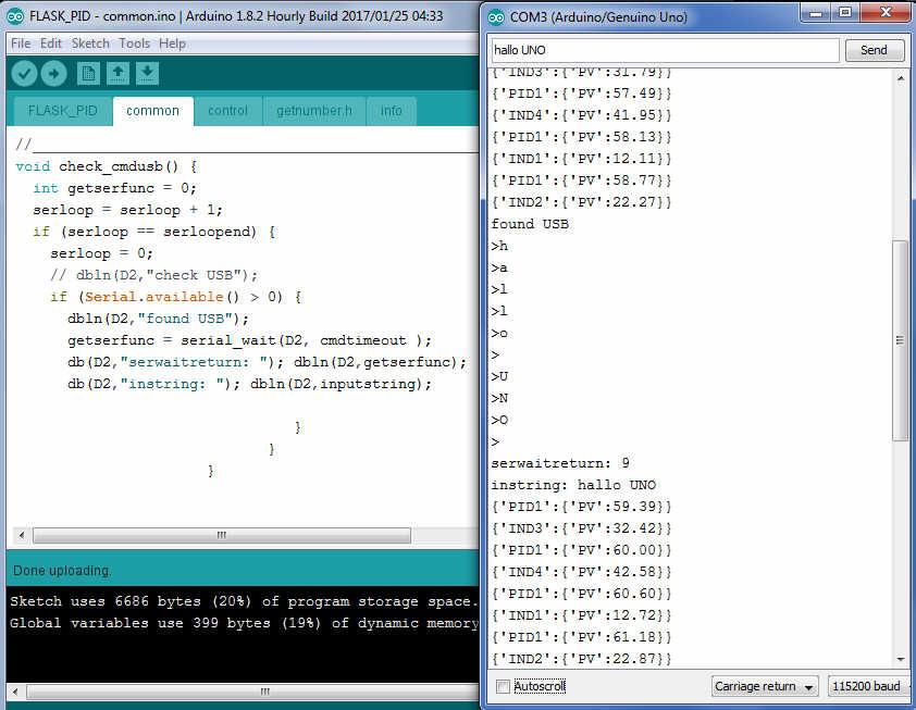 KLL engineering work blog - Articles: again PID control Arduino