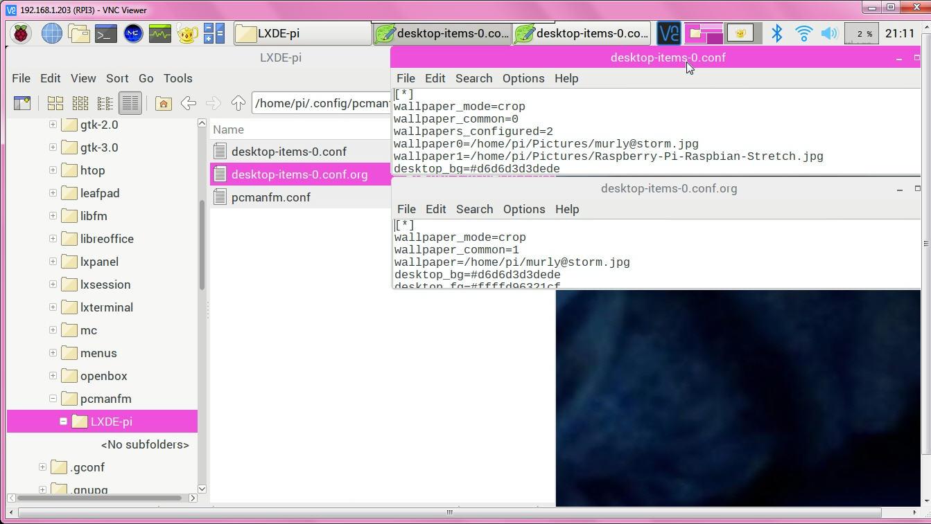 KLL engineering work blog - Articles: Raspbian Desktop tweaks